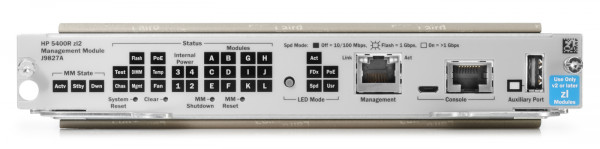 HPE Aruba 5400R zl2 Management Module (J9827A)