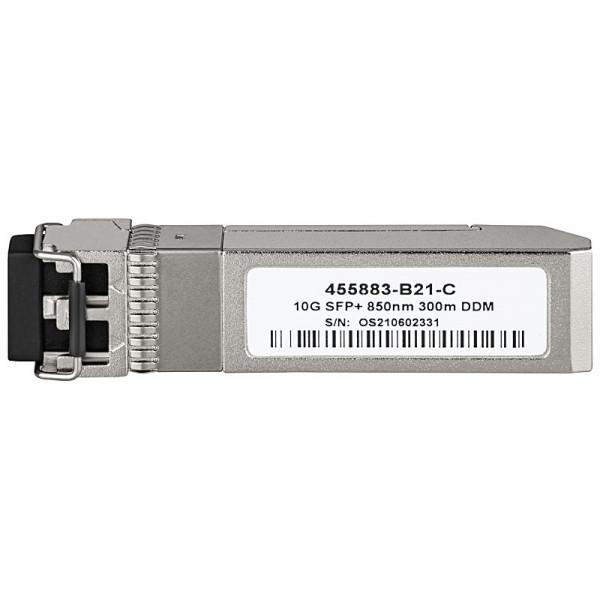 OEM 10GBASE SFP+ SR 850nm 300m LC HPE kompatibel (455883-B21-C)